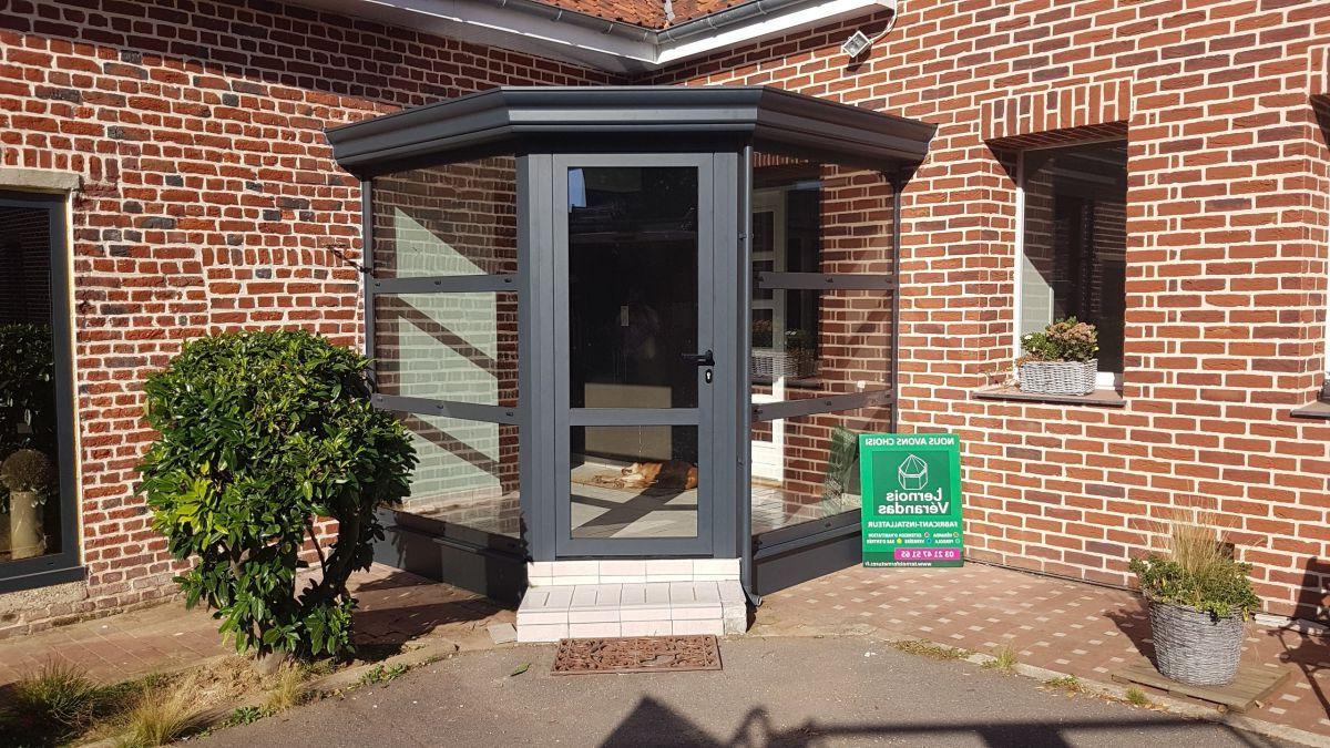 Prix veranda sas d'entrée - veranda surface habitable impots - Duplex10m2