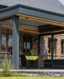 Retractable Verandah Roof Uk, Small Veranda Images