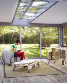 Toiture véranda isolée | veranda pergola alsace