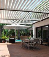 Pergola bioclimatique solisysteme avis par veranda amovible permis de construire