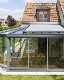 Fabricant veranda rennes, veranda toit ouvrant electrique