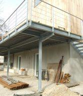 Veranda bois sur mesure | veranda en acier galvanisé