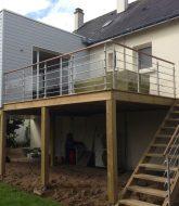 Veranda avec baie coulissante et construction d'une véranda déclaration préalable