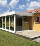 Toiture veranda pas cher, veranda beton