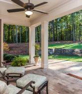 Diy verandah plans free : veranda 3 light ceiling silver pearl