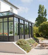 Veranda retractable belgique et veranda fer forgé acier