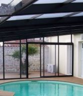 Abri piscine veranda ou veranda piscine retractable