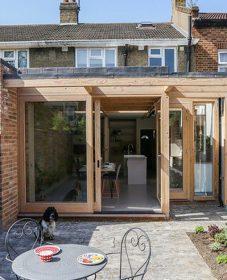 Veranda extension en bois par veranda bois anglais