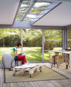 Veranda lounge amman : belle veranda bois