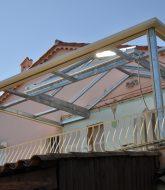 Veranda bois toiture plate | hauteur veranda toit plat