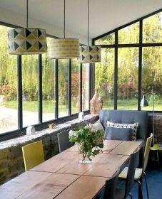 Veranda idee deco, veranda et meuliere