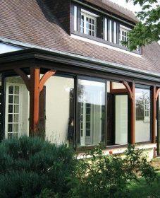 Veranda Sur Terrasse D'immeuble : Modele De Veranda Rideau