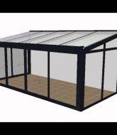Construire véranda en kit | veranda jlr alu