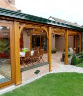Veranda En Bois Et Aluminium, Prix D'une Veranda Concept Alu