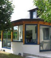 Veranda En Aluminium Bretagne | Veranda Avec Petit Muret