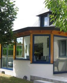 Betonvoet veranda : prix vie et veranda