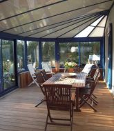Photo veranda fer forge par verandalux à gien