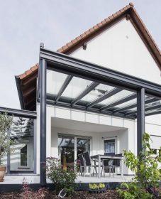 Difference entre veranda et pergola, veranda kep