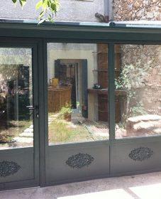 Veranda jean blanc societe.com, veranda acier ou alu