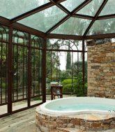 Veranda hotel columbus et veranda abri de jardin