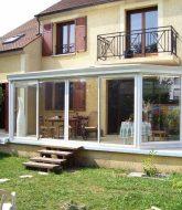 Veranda cuisine exterieur par fabricant veranda dunkerque