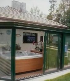 Veranda contemporaine prix et veranda demontable leroy merlin