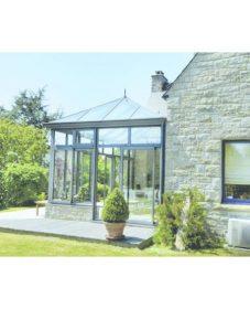 Modele de veranda pas cher : veranda chauffée surface habitable
