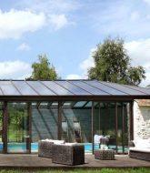 Petite veranda entree – veranda ossature beton