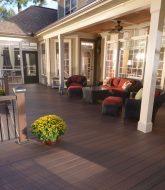 Plan de veranda en bois : veranda composite home depot