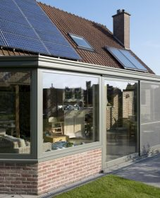 Veranda alu a monter soi meme par veranda moderne bois