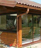 Plan de veranda ossature bois ou ossature bois en kit pour veranda