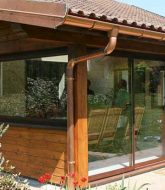 Veranda pergola en kit, terrasse fermée veranda