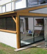 Veranda balcon terrasse et store pour veranda leroy merlin