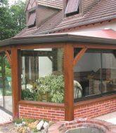 Voir veranda bois et photo veranda exterieur