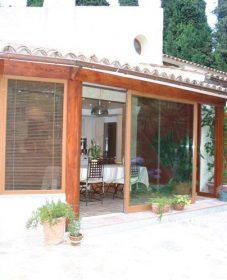 Veranda Bois Avec Volet Roulant Ou Construction Veranda Acier