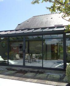 Veranda en kit 18m2 : veranda alu nantes