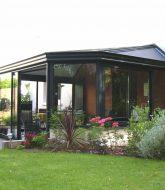 Veranda store exterieur, veranda octogonale