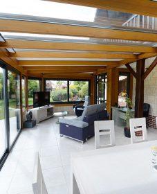 Demande de travaux pour veranda : veranda de bois