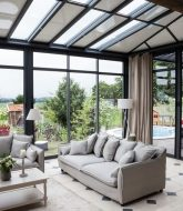 Veranda Moderne Interieur Et Veranda Non Chauffée Impots
