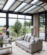 Veranda modele et prix et decoration veranda salon