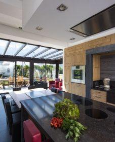 Veranda bois pas cher et veranda verriere cuisine