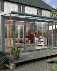 Veranda maison anglaise : glass veranda images