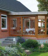 Veranda maison rouge ou veranda a donner