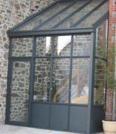 Sas d entree veranda prix, prix veranda bois et verre
