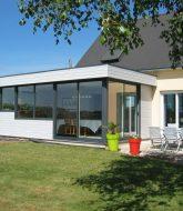 Veranda lamour quimper ou veranda d'angle maison