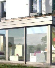 Veranda Design Toit Plat : Maison De Luxe Avec Veranda