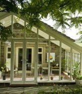 Veranda contemporaine : image petite veranda