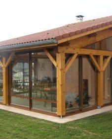 Veranda kit en bois | faire veranda pas cher