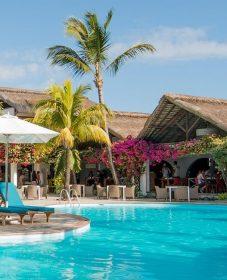 Veranda Paul & Virginie Hotel Mauritius Mini Veranda D'entrée