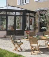 Veranda System Alu | Différence Jardin D'hiver Et Véranda